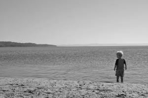 James on lake